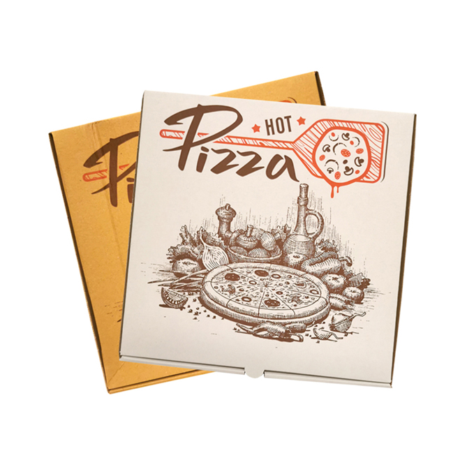PIZZA BOXES CUSTOMIZED ON REQUEST